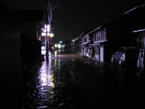 大井宿夜景