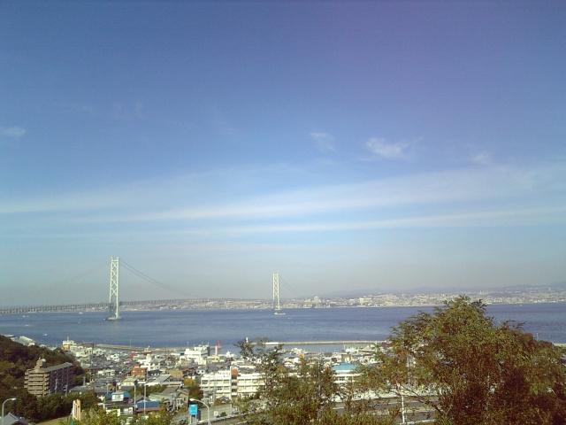 淡路島南 PA から見た遠景