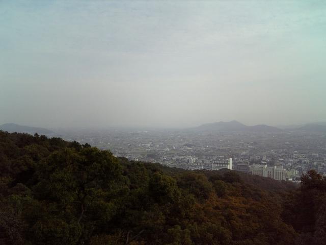 金比羅宮から見た遠景