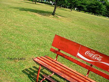 大泉緑地 広場のイス