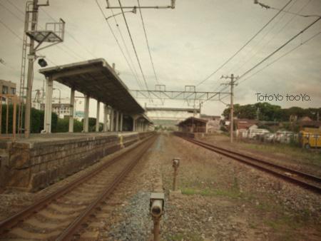 線路(トイカメラ風
