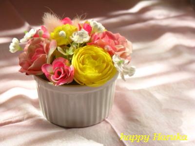 ティータイムのお花