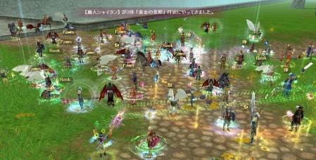 8月25日花火(モンス祭り)