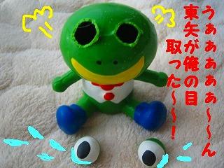 兄ちゃんが~俺の目取った~~!!