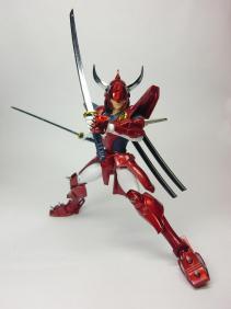 烈火ポーズ1