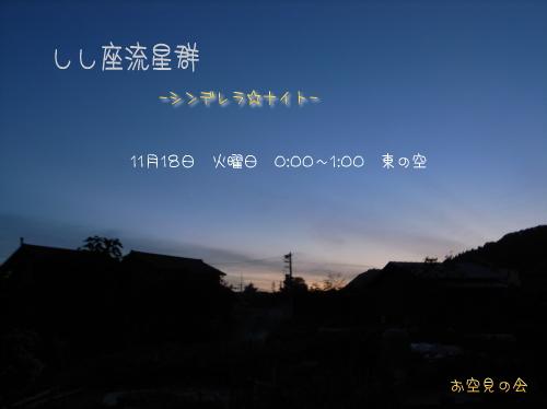 2008 11 18 しし座流星群