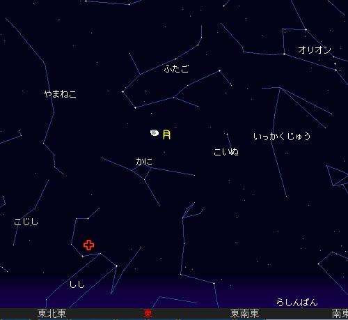 2008 11 18 しし座流星群星図