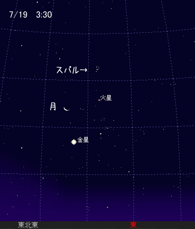 2009 7  19 早起き会 星図