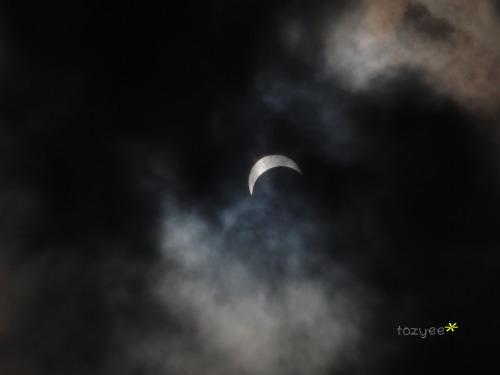 皆既日食 部分日食