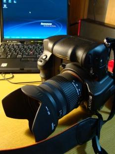 縦グリ+標準レンズの初運用。wktk