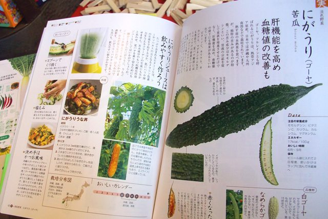 野菜の便利帳(中身)