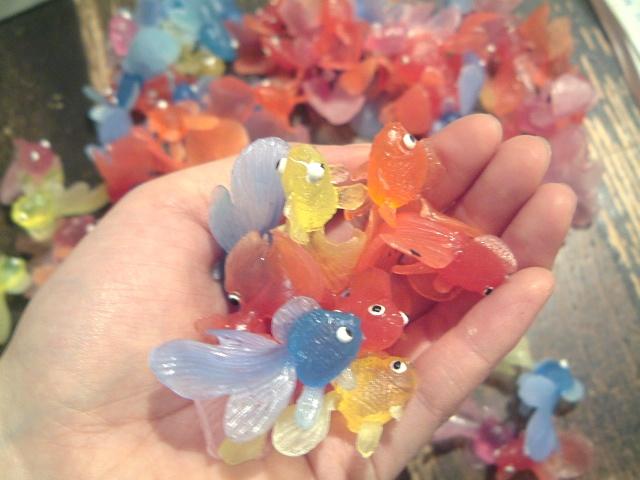 浅草橋の金魚