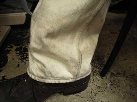 パンツ汚れ