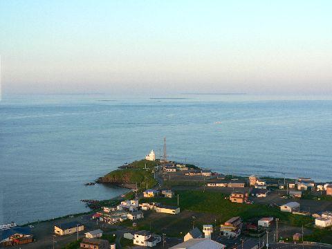 平和の塔からの納沙布岬