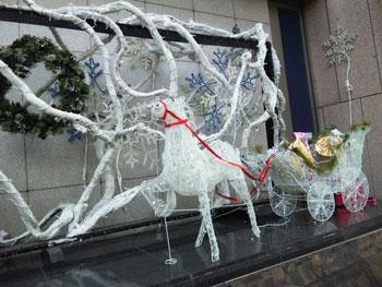 091118 クリスマスディスプレイa