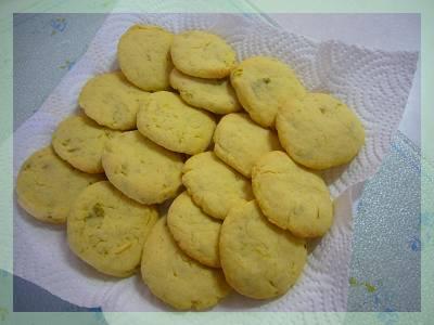 お芋のクッキー加工