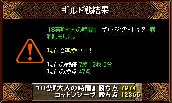 1/24 Gv結果 18禁『大人の時間』