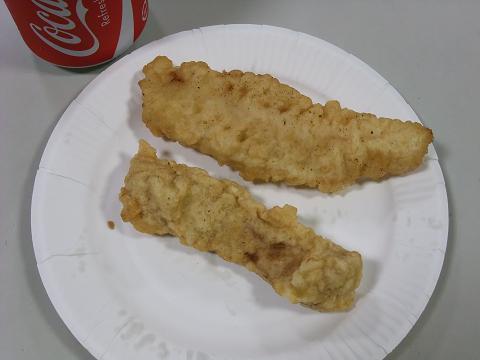 イカ天ぷら & 魚天ぷら