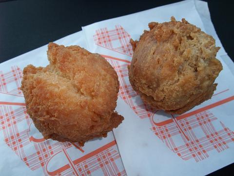 サーターアンダギー (プレーン&黒糖)