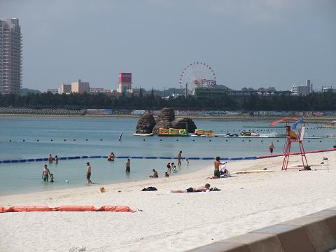 アラハビーチ 遊泳区域