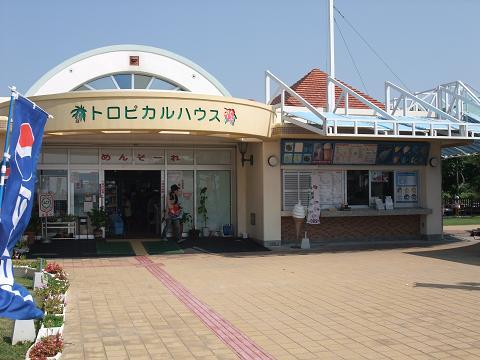 トロピカルビーチ 売店