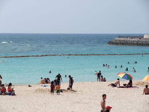 トロピカルビーチ 遊泳区域
