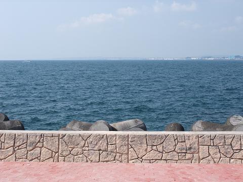 トロピカルビーチ 防波堤