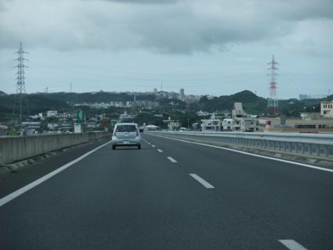 沖縄自動車道 西原JCT
