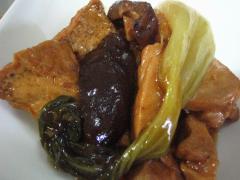 鶏肉と厚揚げの煮物