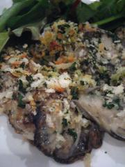 牡蠣オーブン焼き