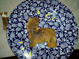 コギ型クッキー