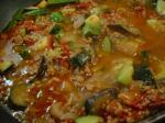 夏野菜の炒め煮