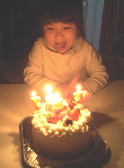 5さいひよこのケーキ