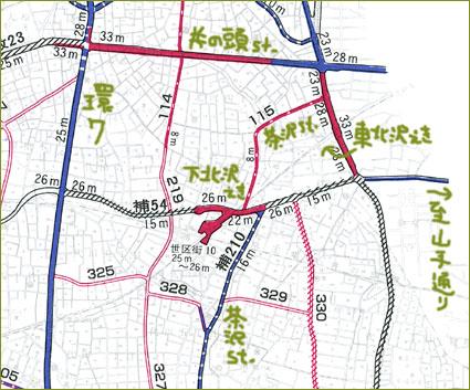 補助54号線拡大図