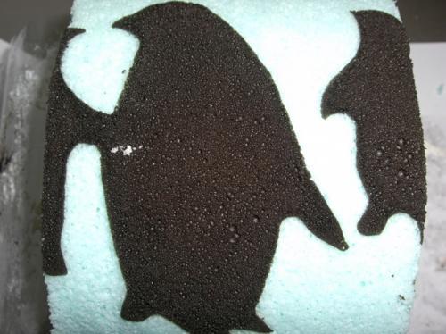 ケーキ ペンギン