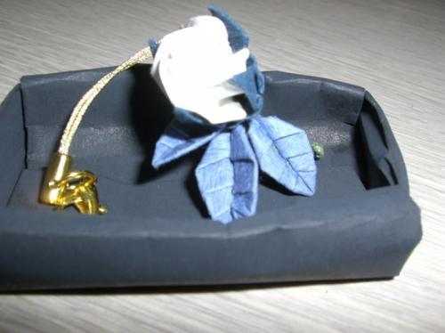 お花の折り紙