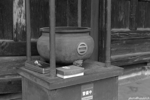 安国寺-一本足02mono