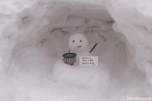チビ雪だるま