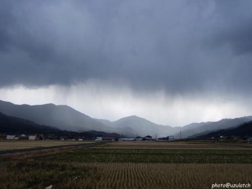 雨のカーテン