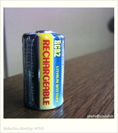 RCR2リチウム充電池