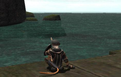 小魚が泳いでるのが見えます。でもよく海苔が釣れます・・・