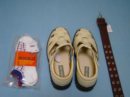 靴・ベルト・靴下