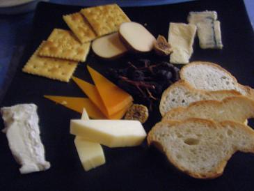 ザ・ワイン・バーのチーズ盛り合わせ