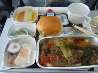 機内食昼食