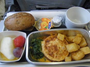 帰路機内食2