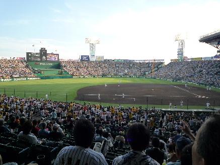 甲子園 VS横浜2