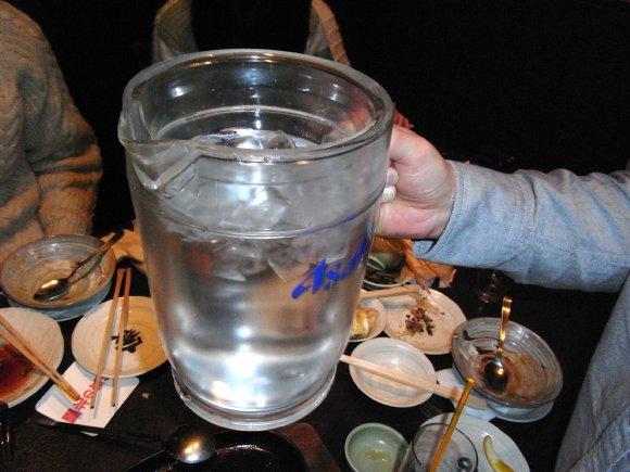 ピッチャー水