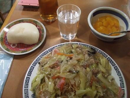 長崎の皿うどんセット