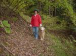 2005 10 26 愛犬と一緒