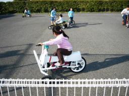 ウサちゃん自転車
